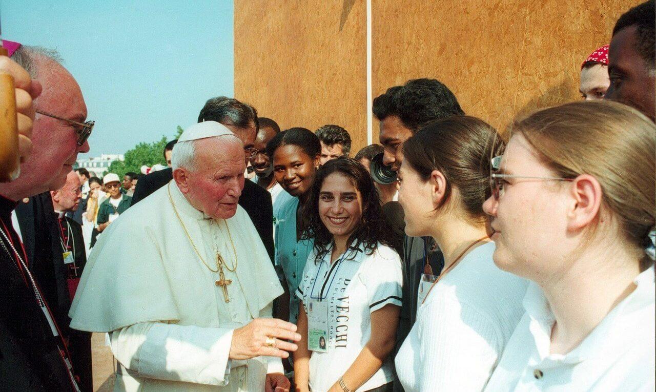 Journées mondiales de la jeunesse avec le Pape